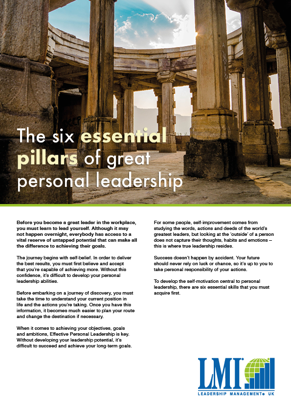 LMI White paper - Six essential pillars